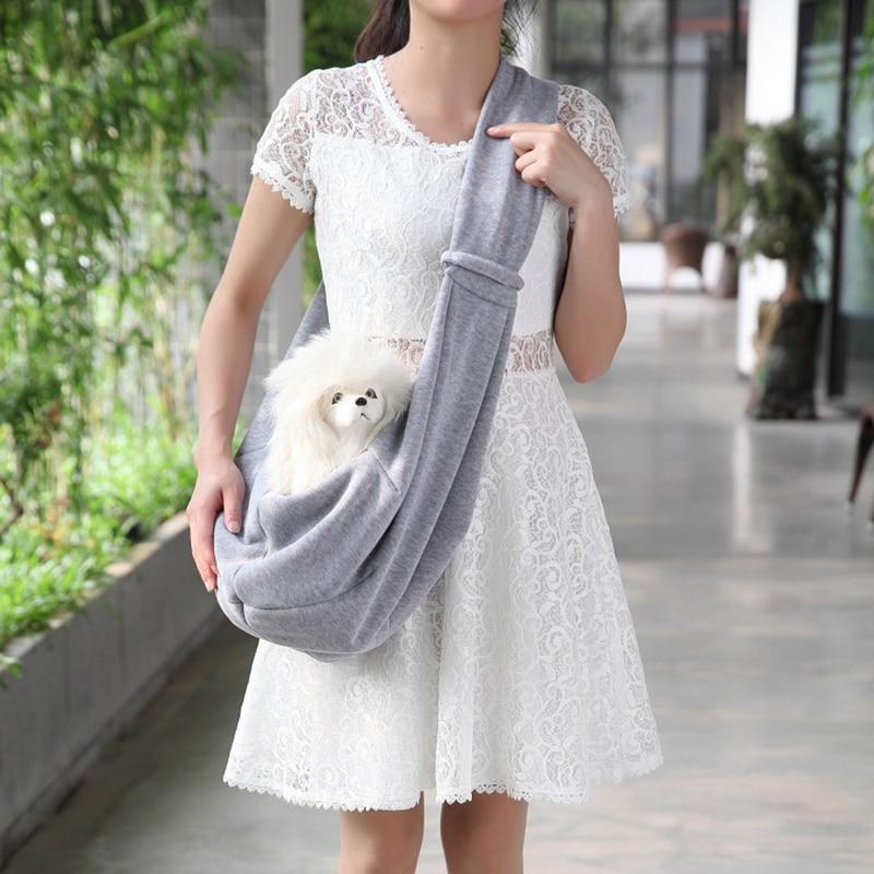 Pet Backpack Portable Pet Dog Cat Puppy Carrier Mesh Comfortable Travel Tote Sling Backpack Shoulder Bag For Small Pets Bag