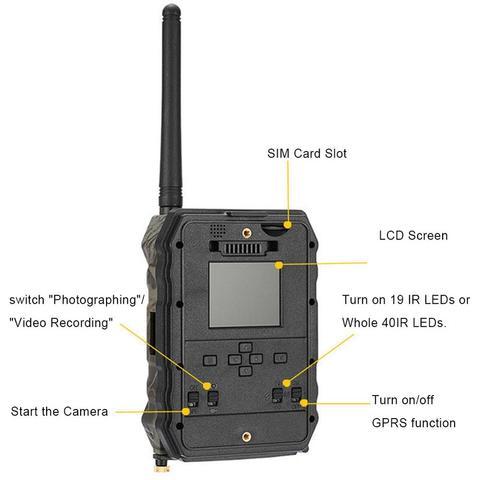 s680m 940nm 2g caca camera trail camera