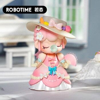 Robotime Nanci Teatime-figuras de acción de juguete, caja sorpresa, figuras de acción para chicas, caja ciega POP01
