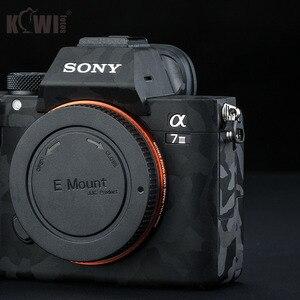 Image 5 - Anti Scratch Camera Body Skin Sticker Cover Protector Film Kit for Sony A7III A7RIII A7 III A7R III A7M3 A7RM3 A7R3 Shadow Black