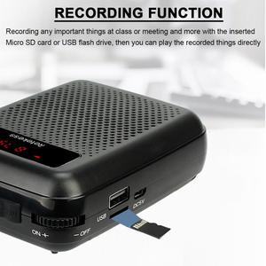 Image 3 - Wireless Microphone TR503 + Portable Voice Amplifier Loudspeaker with FM Radio MP3 Player PR16R for Teacher Training