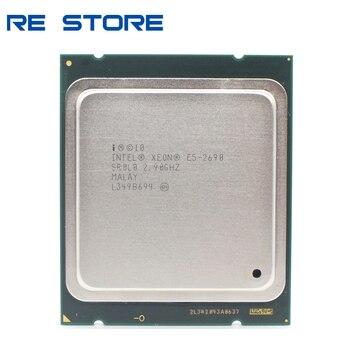 Procesor intel Xeon E5 2690 2.9GHz pamięć podręczna 20M LGA 2011 SROLO C2 CPU 100% normalna praca