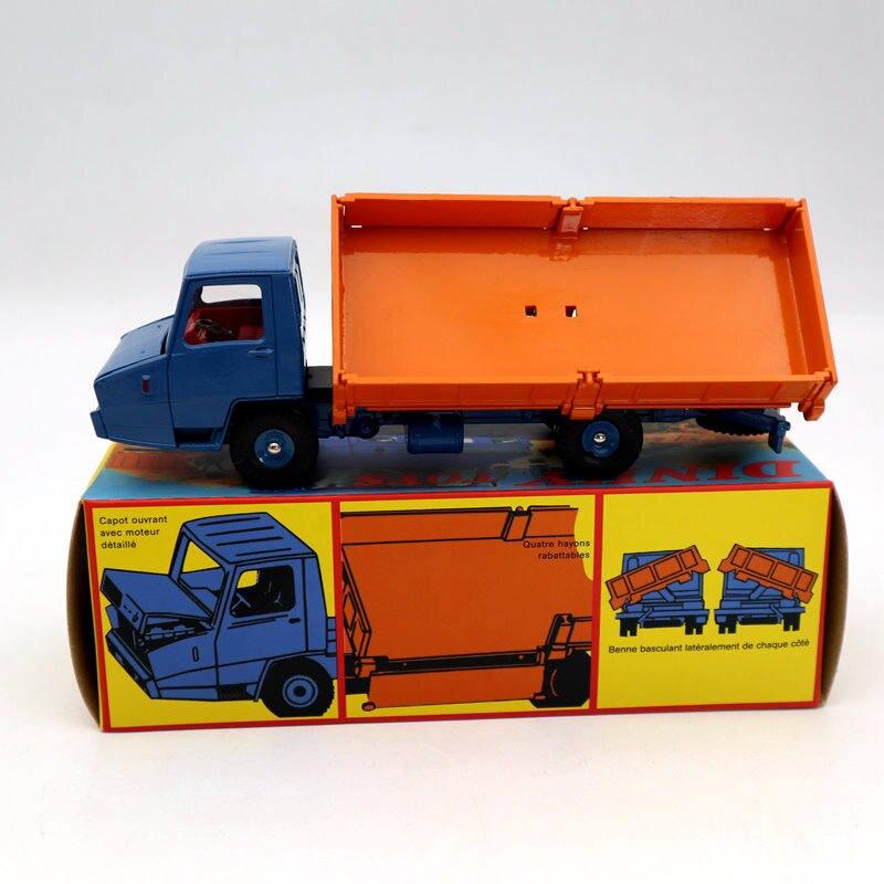 Atlas Dinky toys 569 Truck Berliet Stradair Benne Basculante Laterale Metal Car