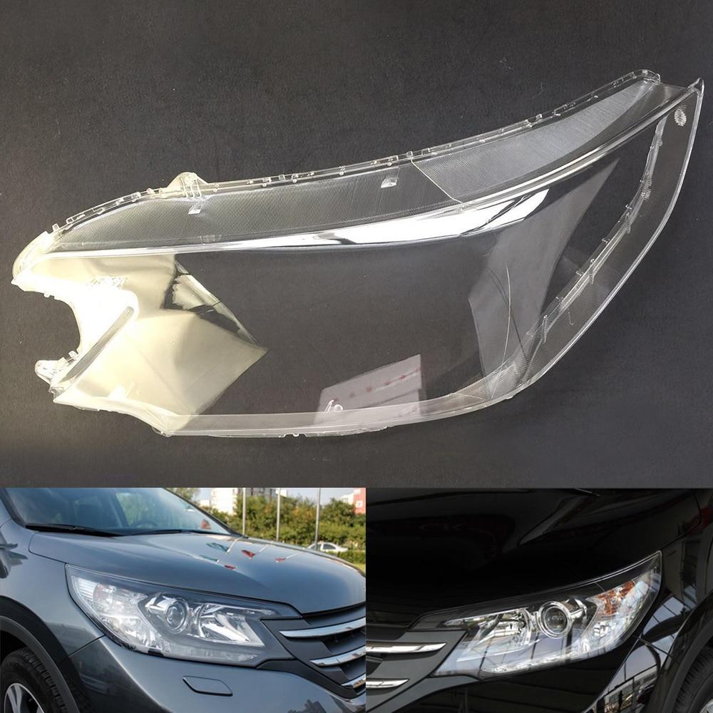 Car Headlight Lens For Honda CRV 2012 2013 2014 Headlamp Lens Car  Replacement  Lens Auto Shell Cover