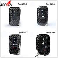 Schwarz Rot Carbon Fiber Remote Key Fob Fall Shell Abdeckung Für Lexus GX460 GX470 LX470 LX570 RX300 RX350 RX400H RX200t NX200 NX300H