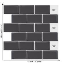 New Design Subway Waterproof 3D Waterproof Peel and Stick Tiles Self Adhesive Wall Sticker Bakery Decorations Easy To Install