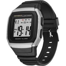 PANARS Sports Outdoor Electronic Watch Pu Strap Alarm Clock Timing Men