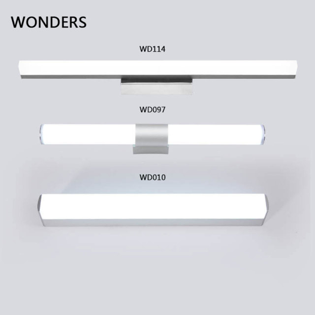 Modern Wall Lamp Super Bright Long Strips Led Mirror Light Simple Style Indoor Decors Acrylic Lamps For Bathroom Bedroom Kitchen 1