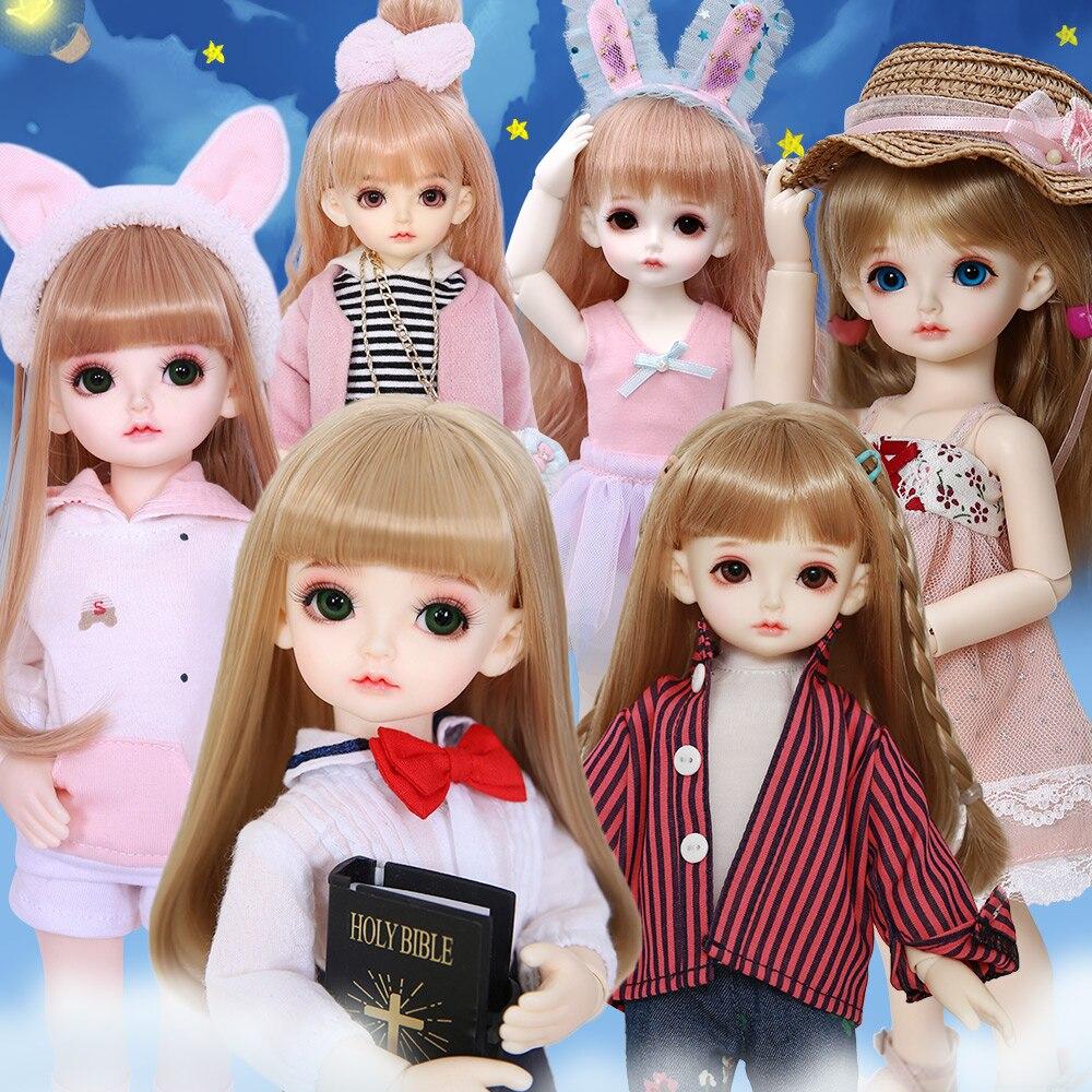 OUENEIFS Rita 1/6 BJD SD Doll Fullset Model Baby Girls Boys Eyes High Quality Toys Resin Figures