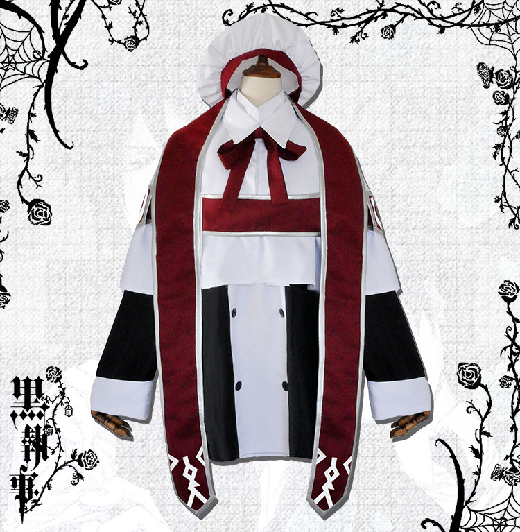 Black Butler Ciel Phantomhive choir boy Halloween cosplay costumes Stage smart character atmosphere props play apparel costume