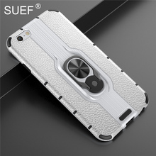 SUEF New Arrivals Hard PC+ Soft TPU Back Cover Case For iPhone 6 6S Plus Phone Bag Cases  With Finger Ring Kickstand mercury goospery i jelly finger ring kickstand tpu case for iphone 6s plus 6 plus red
