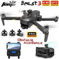 SG906Max GPS Drohnen 3-Achsen Gimbal Kamera 4K Anti Kollision Hindernis Vermeidung 1,2Km 5G Professionellen Bürstenlosen RC Quadcopter Eders