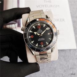 Топ бренд Роскошные автоматические механические часы мужские часы керамика сапфир светящийся календарь механические часы 007 96111