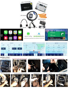 Multimedia-System Apim-Module Carplay New for Touch MFT NAVI 2-To-Sync 3-Upgrade-Kit