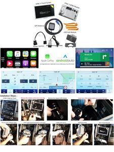 Multimedia-System Carplay SYNC Ford Apim-Module New Touch MFT NAVI 3-Upgrade-Kit V3.4