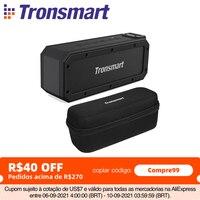 Tronsmart Elemento Force+ Altoparlante Portatile Bluetooth 5.0 SoundPulse con IPX7 Impermeabile, TWS,NFC,40W di Uscita Max, Assistente Vocale