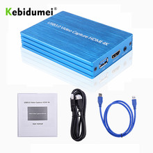 Card-Dongle Video-Capture Game-Streaming HDMI To 1080P USB 60hz USB3.0 Kebidumei 4K