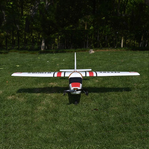 Image 3 - Cessna HJW182 1200mm Wingspan EPO Trainer Beginner RC Airplane Kit  For RC Models Remote Control Toys