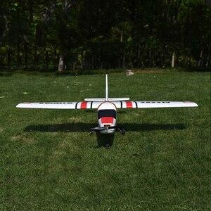 Image 3 - سيسنا fjw182 1200 مللي متر الجناح EPO المدرب المبتدئين RC طائرة عدة ل RC نماذج التحكم عن بعد اللعب
