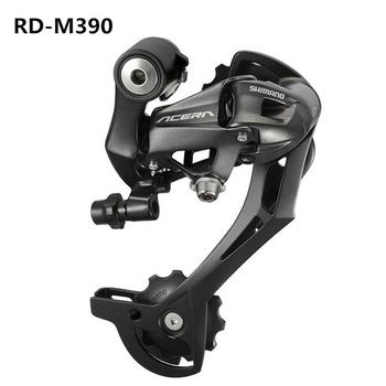 цена на Acera RD-M390 Rear Derailleur 7 8 9 speed MTB bike bicycle Derailleur for Acera for 3x7S 3x8S 21S 24S Speed