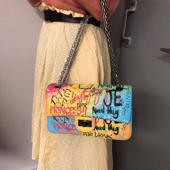 Colorful Rainbow Clutches 3