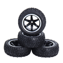 4PCS rc car parts 1/10 Scale 75mm Rally Car Tyres  for 1:10 Off-road On Road Car Traxxas Tamiya HSP HPI Kyosho surpass hobby 550 21t 27t 35t brushed motor 60a esc with 5v 2a bec for hsp hpi kyosho traxxas 1 10 rc crawler off road climbing