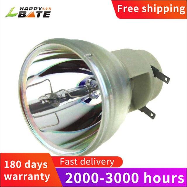 HAPPYBATE ampoule de projecteur de remplacement pour 5811117901 SVV pour VIVITEK D803W 3D H1185HD D910HD P VIP 240/0.8 E20.8