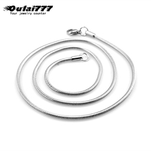 oulai777 necklaces for women stainless steel Simple gifts neck chains boho jewelry on the fashion 2019