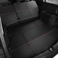 Waterproof Boot +Back Seat Carpets Durable Custom Special Car Trunk Mats for BMW Subaru Skoda Tesla Volvo Hyundai Chevrolet