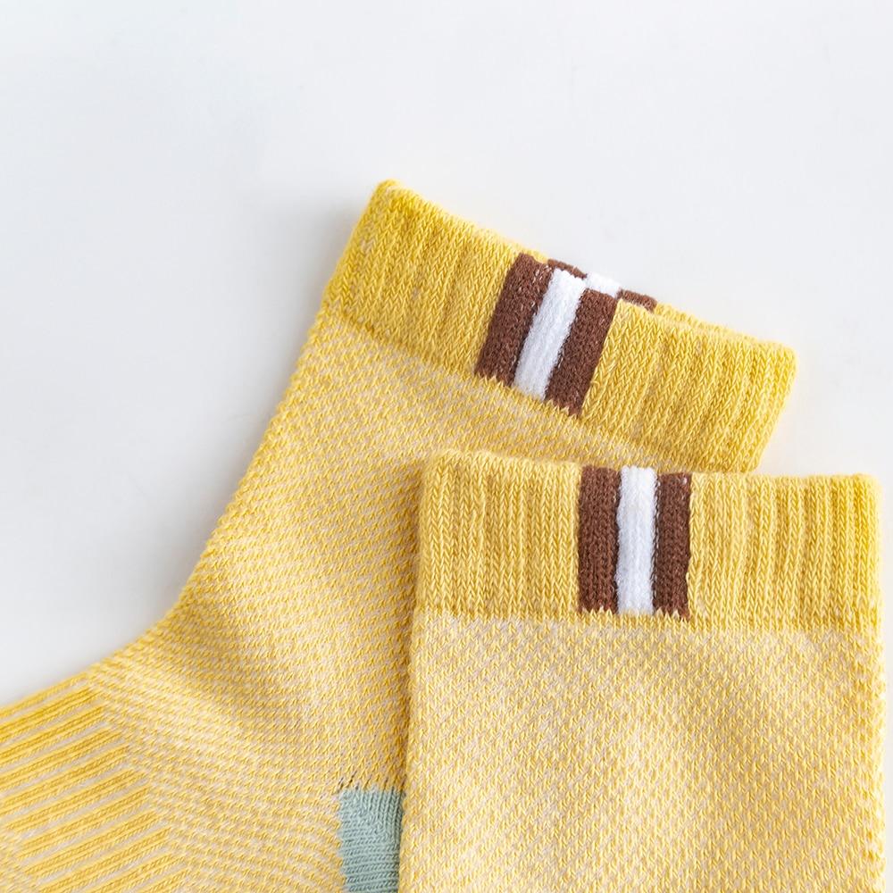 5Pairs/lot 2-9Y Baby Socks Summer Cotton Color Patchwork Kids Socks Colorful Girls Mesh Cute Newborn Boys Toddler Socks Baby 6