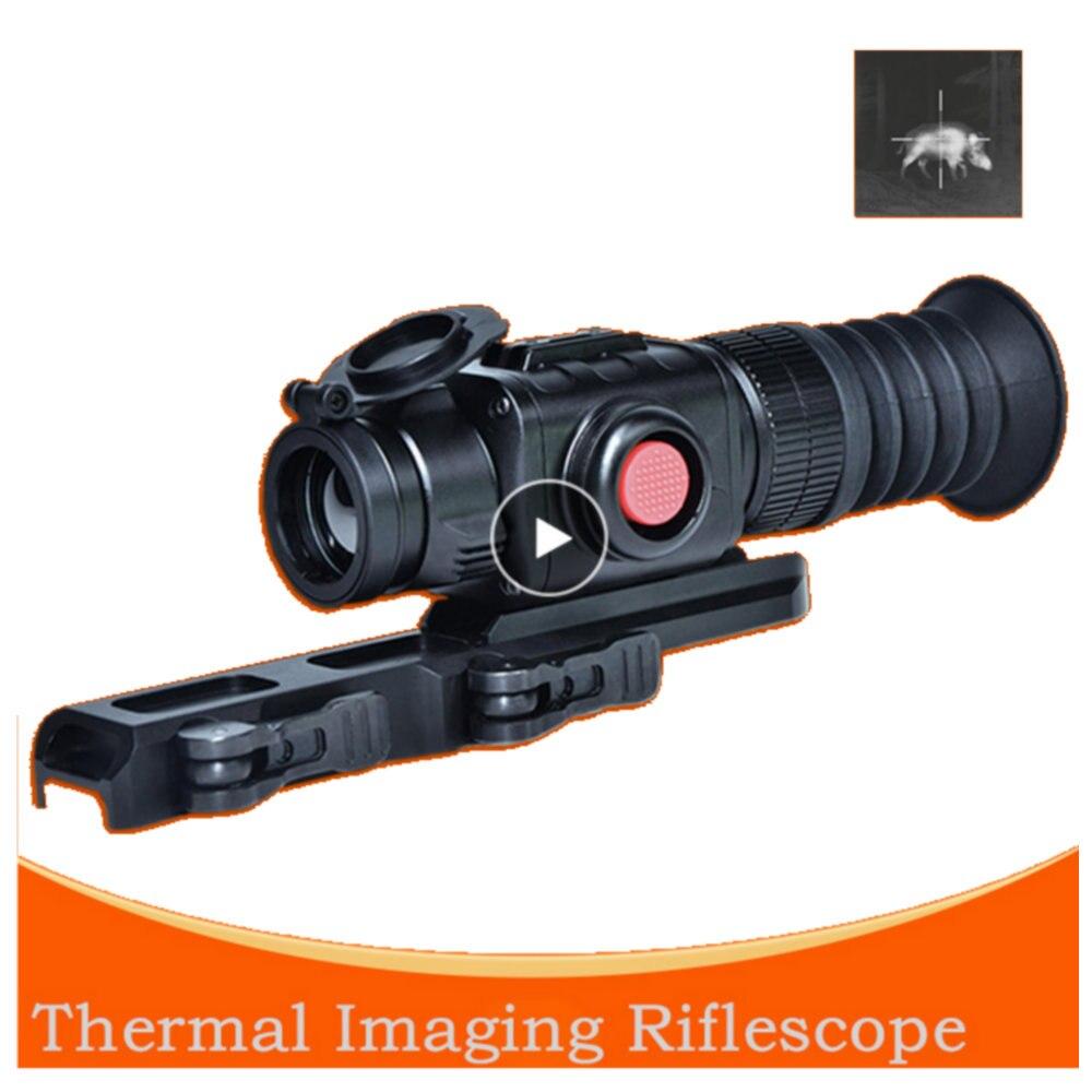 Caméra thermique infrarouge Vision nocturne dispositif de visée monoculaire lunette de visée CS-7 imageur thermique pour la chasse en plein air