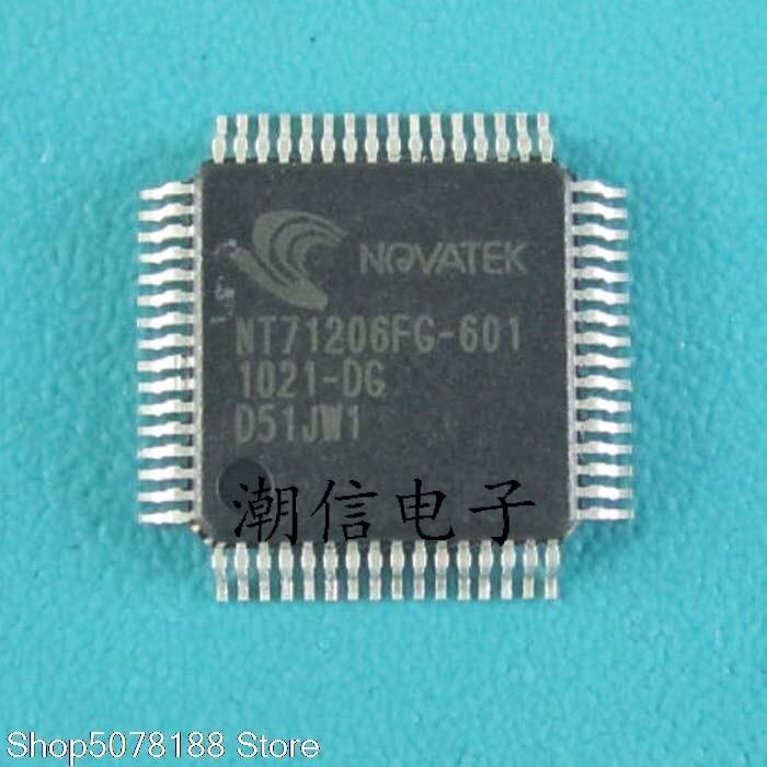 5 peças NT71206FG-601 QFP-64