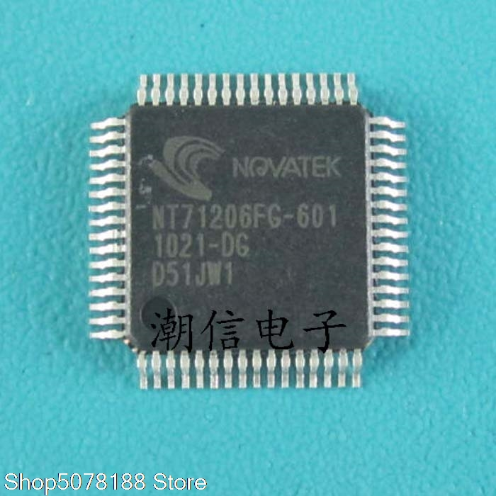 5pieces NT71206FG-601  QFP-64