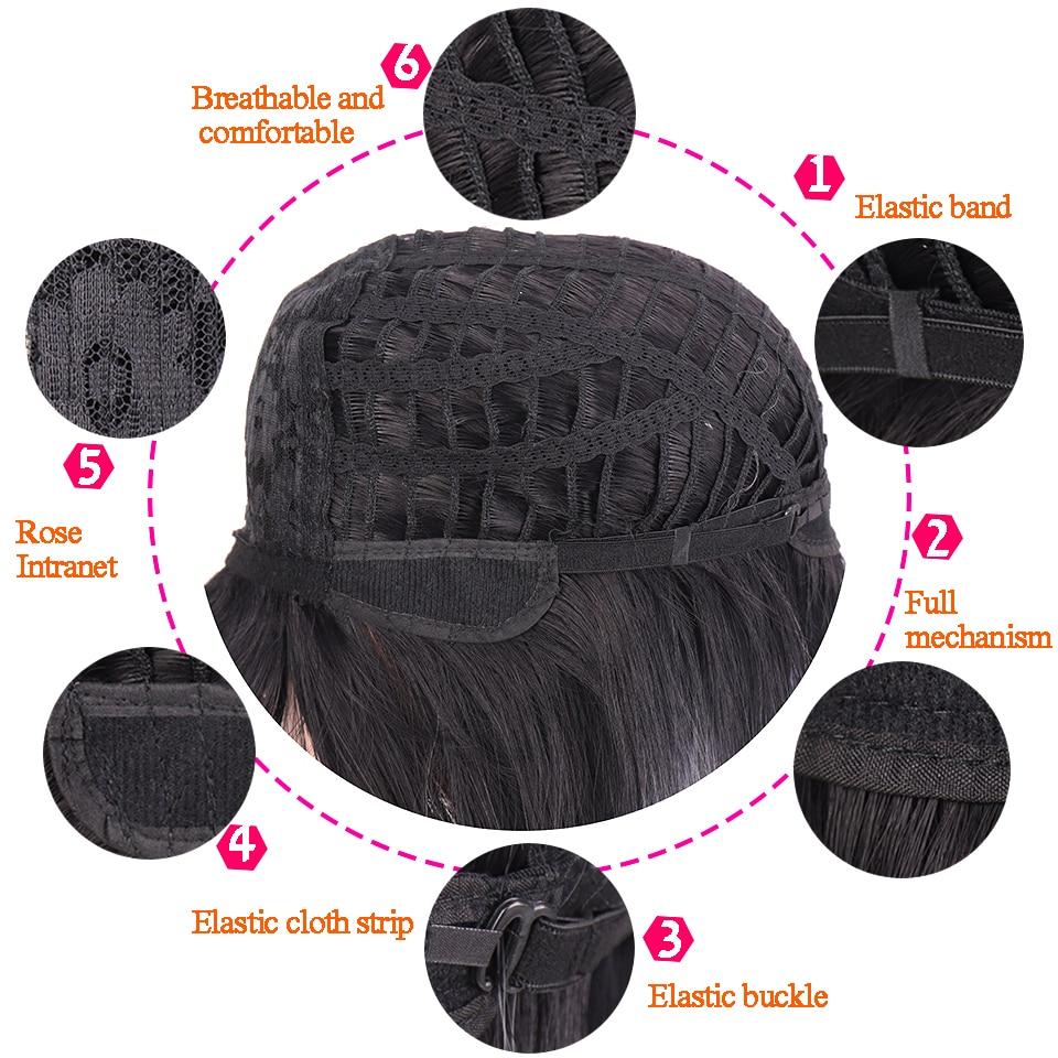 cosplay onda peruca feminino sintético de alta temperatura seda