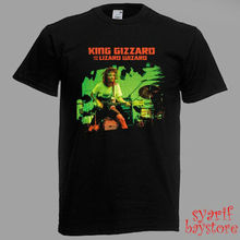 King Gizzard and the Lizard Wizard Tour 2018 Men's Black T-Shirt Size S to 3XL Print T-Shirt Summer Casual top tee цена