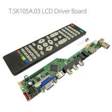 T.SK105A.03 T.SK106A.03 Universele Lcd Led Tv Controller Driver Board Tv/Pc/Vga/Hdmi/Usb Interface 8.9 42 Inch Matrix Russische