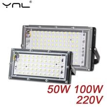 Focos LED Spotlight 50W AC 220V Refletor LED Spot Flood Light Garden Lighting Floodlight Outdoor Kitchen Street Lighting
