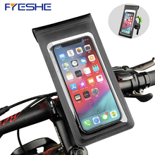 À prova dwaterproof água da motocicleta bicicleta suporte do telefone móvel para iphone 8 se 8plus x xs xr à prova de chuva caso de montagem do telefone celular saco