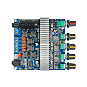 Image 5 - AIYIMA TPA3116 50W*2+100W Bluetooth Digital Power Amplifier Assembled Board TPA3116D2 HIFI 2.1 Subwoofer Bass Board With Case