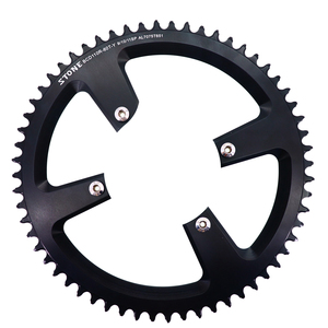 Image 3 - Stone 110 BCD Round Chainring for Shimano R7000 r8000 r9100 34 36 38 42t 48t 50t 54t 56t 58t 60T tooth Road Bike 12s 110bcd
