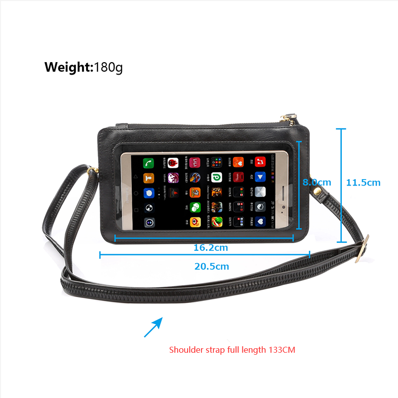 Touch Screen Wristlet Phone Purse