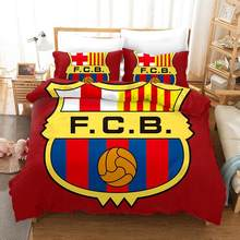 GOANG Bedding Sets Bed Sheet Duvet Cover And Pillowcase Home Textiles Luxury Bedding Set 3d Digital Printing Football Club(China)