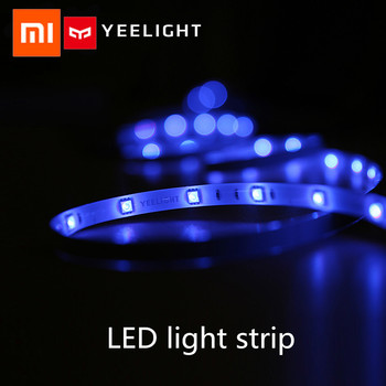 Xiaomi Yeelight RGB Intelligent light band Smart home Phone App wifi Led light strip Colorful lamb LED 2M 16 Million 60 Led 2018