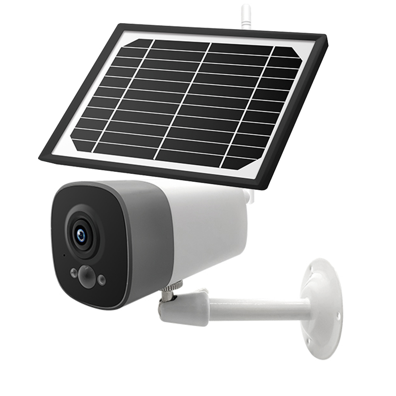 Image 2 - Solar wireless camera outdoor night vision waterproof camera WiFi remote surveillance camera 1080P wide angle lens camera
