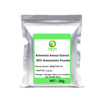 Hot Sale Organic Artemisia Annua Extract 99% Artemisinin Powder Sweet Wormwood anti cancer Longevity Support free shipping 2020 hot sale nicotinamide mononucleotide nmn powder extract nicotinamide riboside 1pc festival skin body glitter free shipping