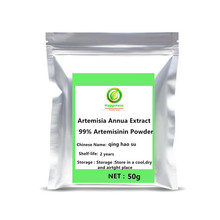 Hot sale Artemisia Annua Extract 99% Artemisinin Powder Sweet Wormwood anti cancer women/men sex Longevity Support free shipping micropropagation of artemisia annua anamed