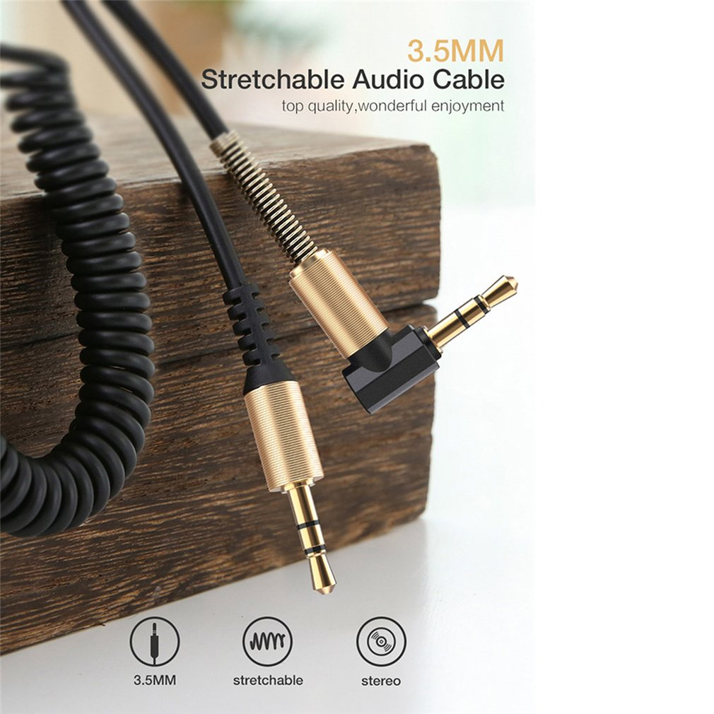 <font><b>3</b></font>.5mm Audio Cable Jack <font><b>3</b></font> <font><b>5</b></font> <font><b>Aux</b></font> Cable Male to Male For Speaker Headphone iPhone Samsung Car MP3 4 Mobile Phone <font><b>Aux</b></font> Cord Wire image