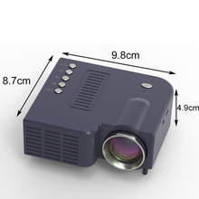 UNIC 28+ LED Mini Projector Portable 1080p Full HD Projector Home Theater Entertainment Projectors HDMI/USB/SD/VGA/AV Input