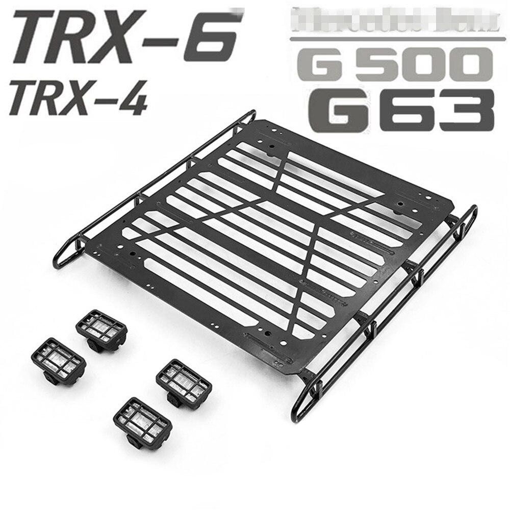Gepäckablage Luggage Rack Carrier für TRAXXAS TRX-4 TRX-6 6X6 G63 G500 RC Auto