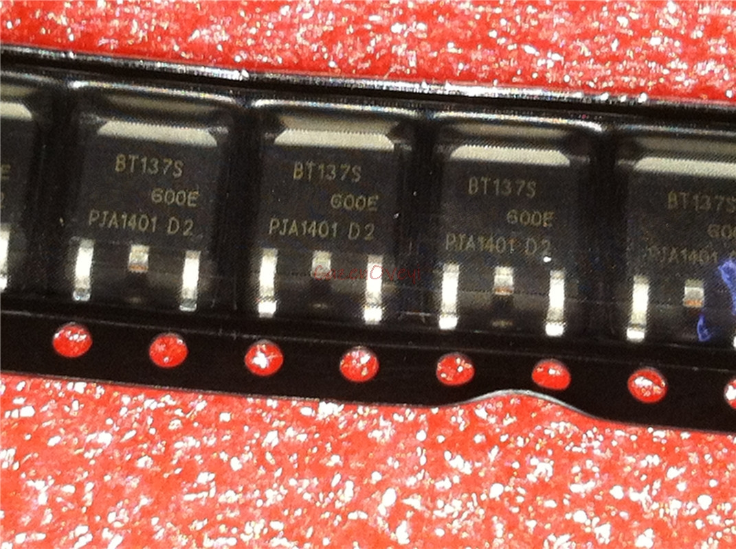 10pcs/lot BT137S-600E BT137S TO-252 New Original